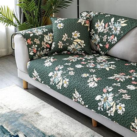 See more ideas about sofa covers, diy sofa, pet sofa cover. Sofa Cover Anti-Slip Slipcover 100% Cotton Floral Couch ...