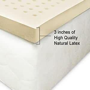 The best latex mattress topper doesn't always make your sleep conditions softer. Amazon.com: 100% Natural Latex Mattress Topper 3 inches ...