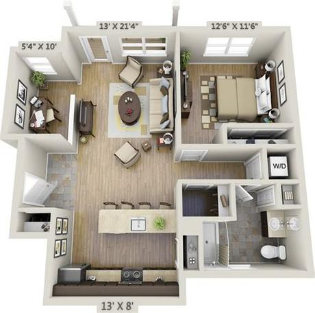 Places huntington beach, california real estatereal estate agent one bedroom apartments. One-Bedroom Apartments | Net Zero Village