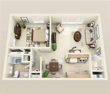 Amenities such as secured premises, an underground garage. What Is The Difference Between Studio Apartment and One ...