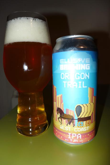 Tasting Notes: Elusive Brewing: Oregon Trail – West Coast IPA