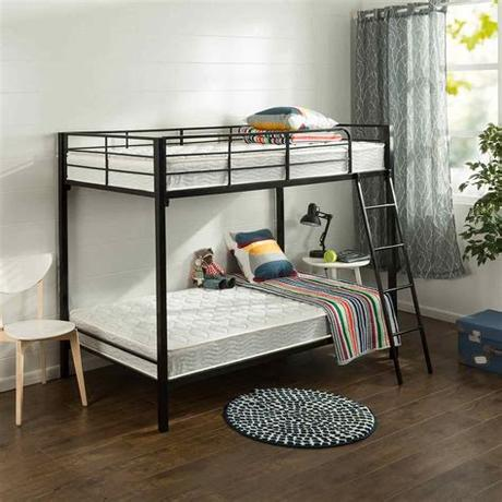 You'll want to consider weight limits for both the mattress and the overall structure of the frame when you are deciding if a teen has outgrown their bunk bed days. The 10 Best Twin Mattresses of 2020