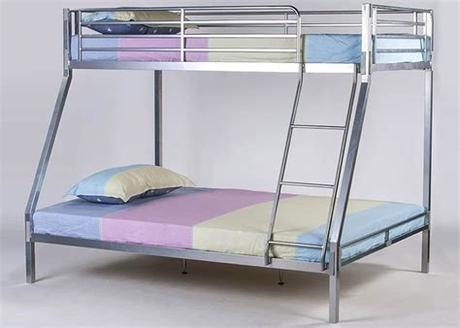 Because the zinus mattress is only 5 deep, it is best for light, young kids. Strong Metal Triple Bunk Bed & Mattress | Reinforced Beds