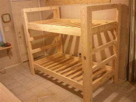 Consumer product safety commission, the mattress should be at least 5 inches shorter than the top of the rails. Twin Bunk Beds | Jays Custom Creations
