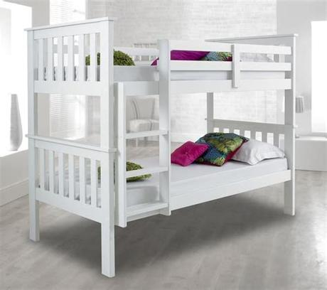 You might think that twin bunk beds or full bunk beds are the only options, but at lowe's, we sell more than just toddler bunk beds and bunk beds for kids. Atlantis Wood Bunk Bed 3ft Single with 4 Mattress and 2 ...