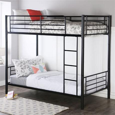 The dimensions of each bunk will determine which mattress size is appropriate. Chic and Cheap Bunk Beds under $200