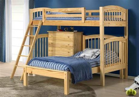 A mattress that is 6 or 7 inches thick is a top choice. Phoenix Bunk Bed Natural | Mattress Superstore