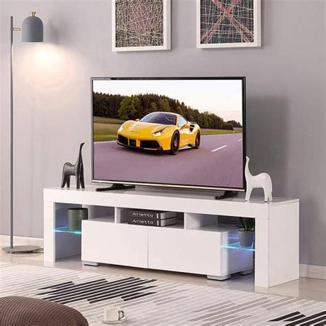 As popsugar editors, we independently select and write about stuff we love and think you'll like too. 4-Ever 63'' TV Stand LED Cabinet | Best Cheap TV Stands ...