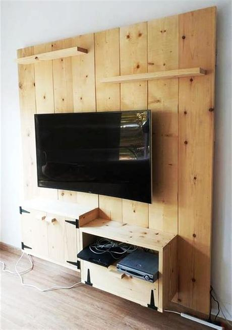 Tv stands & media consoles. 21 Affordable DIY TV Stand Ideas You Can Build In a Weekend