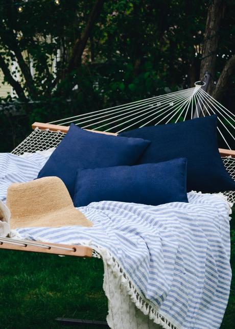 Hammock Revamp + Tips for an Extra Cozy Hammock Hangout