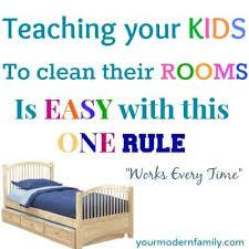 Here's how to get them to pitch in without here's how to get them to pitch in without putting up a fight. Teaching A Child To Keep Their Room Clean Your Modern Family