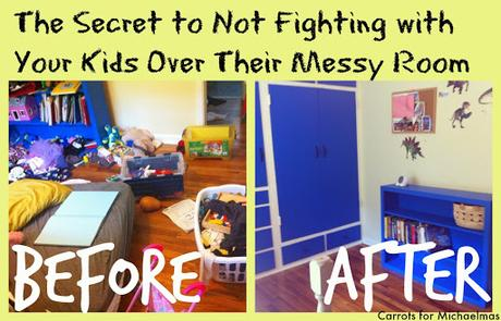 Sure the kids just drop dirty dishes there since the dishwasher is full. The Secret To Not Fighting With Your Kids About Their Messy Room