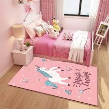 This wallpaper can add that magical touch to your little one's room. Princess Pink Unicorn 3d Printing Carpet Children S Cartoon Crawl Antiskid Mat Kids Room Decor Rugs Cute Child Bedroom Area Rug Carpet Aliexpress