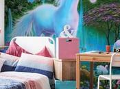 Kids Room Design Unicorn Pink Bedroom Trendecors Favorites Paper Flowers Backdrop Birthday Flower Set.