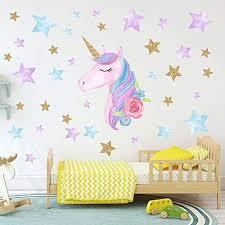 Each of our 6 unicorn designs was made to inspire your child to spread more joy, kindness, and magic! Colorful Unicorn Wall Decals For Kids Room Vinyl Peel And Stick Wall Stickers Nursery Baby Room Decoration Wall Stickers Pvc Car Stickers Laptop Or Refrigerator Sticker Poster Wallpaper Home Decor Price In