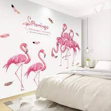 Categories bedroom, interior post navigation. Cute Unicorn Flamingo Wall Stickers For Kids Room Girls Boys Bedroom Living Room Decor Diy Poster Cartoon Animal Wallpaper Stickers Amazon De Kuche Haushalt