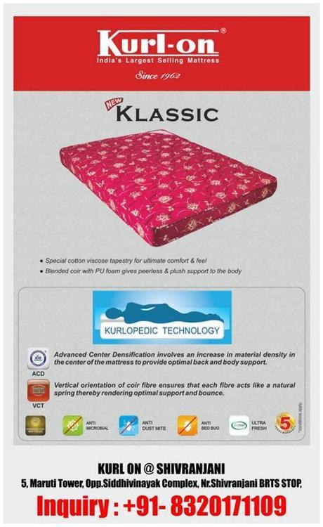 Providing quality furniture and bedding at affordable prices. #mattress | Kurlon Mattress Express - Shivranjani ...