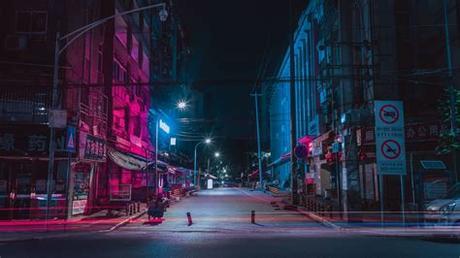 ❤ get the best streets wallpapers on wallpaperset. Download wallpaper 3840x2160 street, night city, neon ...