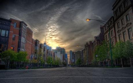 Good day, on this site you can quickly and conveniently download free wallpapers for your desktop. Wallpaper : house, city, road, street, HDR 2560x1600 ...