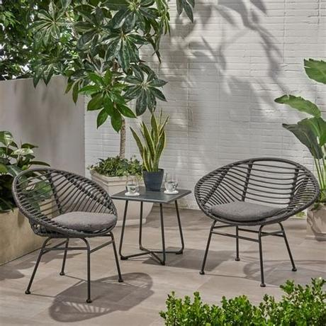 Family leisure in san antonio is the local warehouse for everything family fun! San Antonio Outdoor Woven Faux Rattan Chairs with Cushions ...