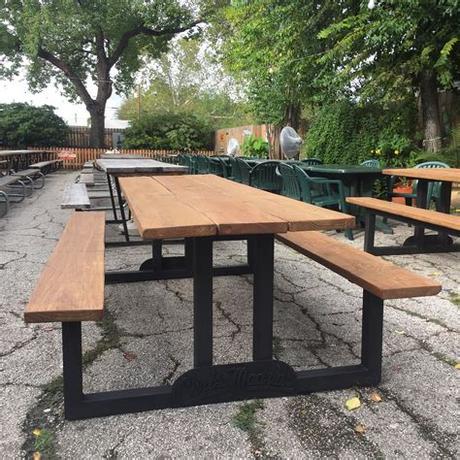 Or loop 410 at nacogdoches. Www.Wanderlustironworks.com Custom picnic tables for Chris ...