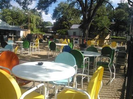 Build a comfortable and useful space with outdoor furniture sets, and take advantage of lightweight and versatile wicker chairs, tables and décor. Friendly Spot Ice House, San Antonio, TX   Outdoor ...