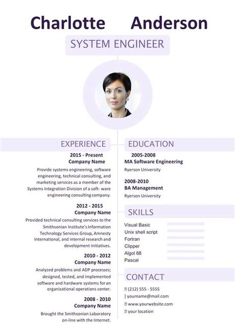 Here's how to get them for free: 60+ Free Word Resume Templates in MS Word | Download Docx ...