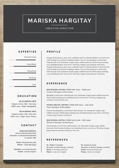 A resume is a document that completely enumerates the personal and professional information of a person. 24 Free Resume Templates to Help You Land the Job