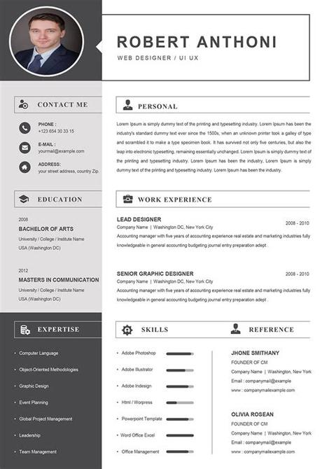 They are freely editable, useable and working for you; Computer Resume Template Word Format to Download ...