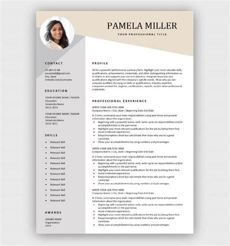Free resume templates that download in word. Free Resume Templates for Microsoft Word | Download Now