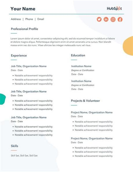 Enjoy our curated gallery of over 50 free resume templates for word. The 17 Best Resume Templates for Every Type of Professional