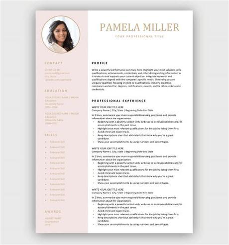 Adobe illustrator resume templates free resume template. Modern Resume Template - Download for Free