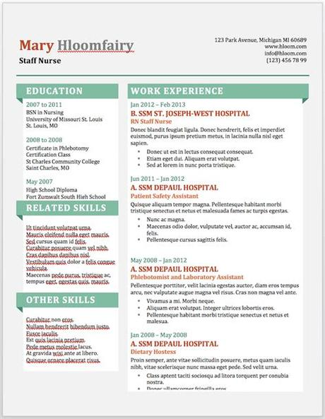 To access the microsoft resume templates online: 11 Free Resume Templates You Can Customize in Microsoft Word