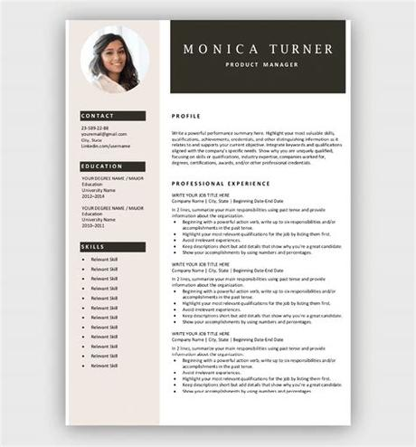 They are freely editable, useable and working for you; Free Resume Templates for Microsoft Word | Download Now