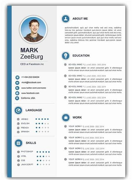 Once logged in, you can download your resume for free as a.txt file to design on your own. Resume Template Free Downloadable Word Of attractive ...
