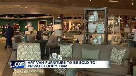 @artvan we're the midwest's #1 furniture & mattress retailer, proudly doing business for 55 years! Art Van Furniture being sold to private equity firm