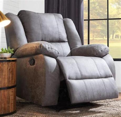 Art van also offers a huge range of outdoor accessories including lava rocks, fire pit furniture sets, propane tank covers, and gazebos. Mitchell Grey Rocker Recliner | Art Van Furniture ...