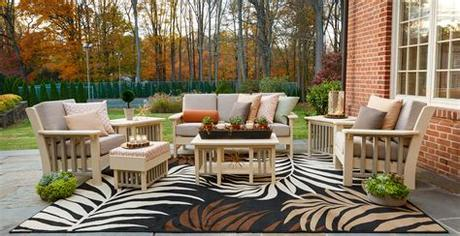 This sofa has a great, luxurious style. Van Buren Outdoor Seating Group | Town & Country