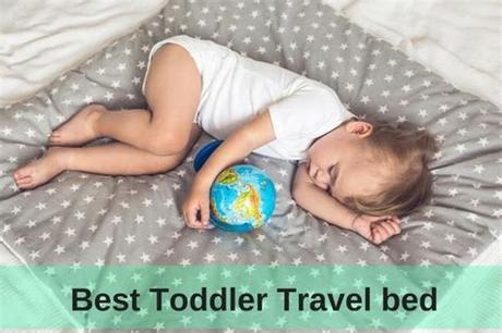 Toddler and kids travel bed air mattress with extra tall safety bumpers Top 5 Best Toddler Travel Beds in 2018 [Adviserify.com ...