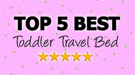 So easy to inflate and so durable. Toddler Travel Bed - Top 5 Best Travel Beds for Toddlers ...