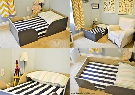 Toddler travel beds are an excellent choice for parents looking for a travel crib for a 2+ year old or if although many travel cribs are still a good choice for this age group, a toddler travel bed may fit. Chris and Sonja - The Sweet Seattle Life: DIY Toddler Bed