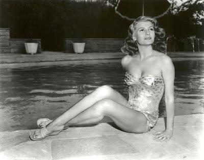1940s Maybelline Model, Rita Hayworth a favorite GI Pin Up Girl.