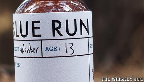 Blue Run Bourbon Whiskey Label