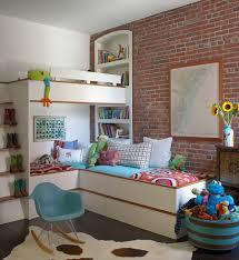 The family room before our diy built in. 25 Space Savvy Small Kids Bedroom Solutions From Bunk Beds To Smart Shelves