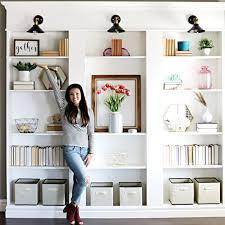 This room looks so great! How To Make A Built In Bookcase With Ikea Shelves This Old House
