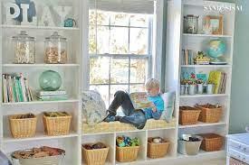 A modern kids room for girls. Playroom Storage Ideas Decorating Built Ins Playroom Storage Decorating Built Ins Bookshelves Built In