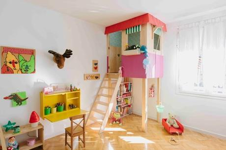 Part of project green living. The Boo And The Boy Built Ins In Kids Rooms