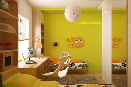 How to build a wall of shelves! 12 Kids Bedrooms With Cool Built Ins