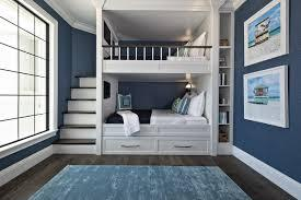And these shutter style cabinets are a perfect touch. Bunk Beds And Built Ins Trending In Kids Rooms In Summer 2018