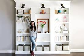 These kids room cabinets are made of stable durable materials that support the storage of clothes. How To Make A Built In Bookcase With Ikea Shelves This Old House